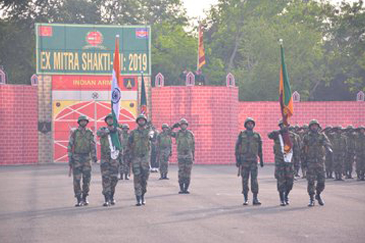 India, Sri Lanka, insurgency, terrorism, Mitra Shakti 2019, United Nations, Pune