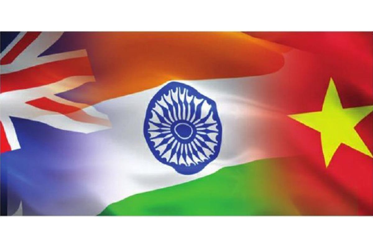 India, Vietnam, Australia, China