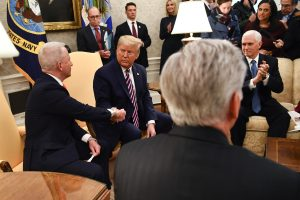Donald Trump faces 'historic' impeachment as Mike Pence refuses to remove him from office