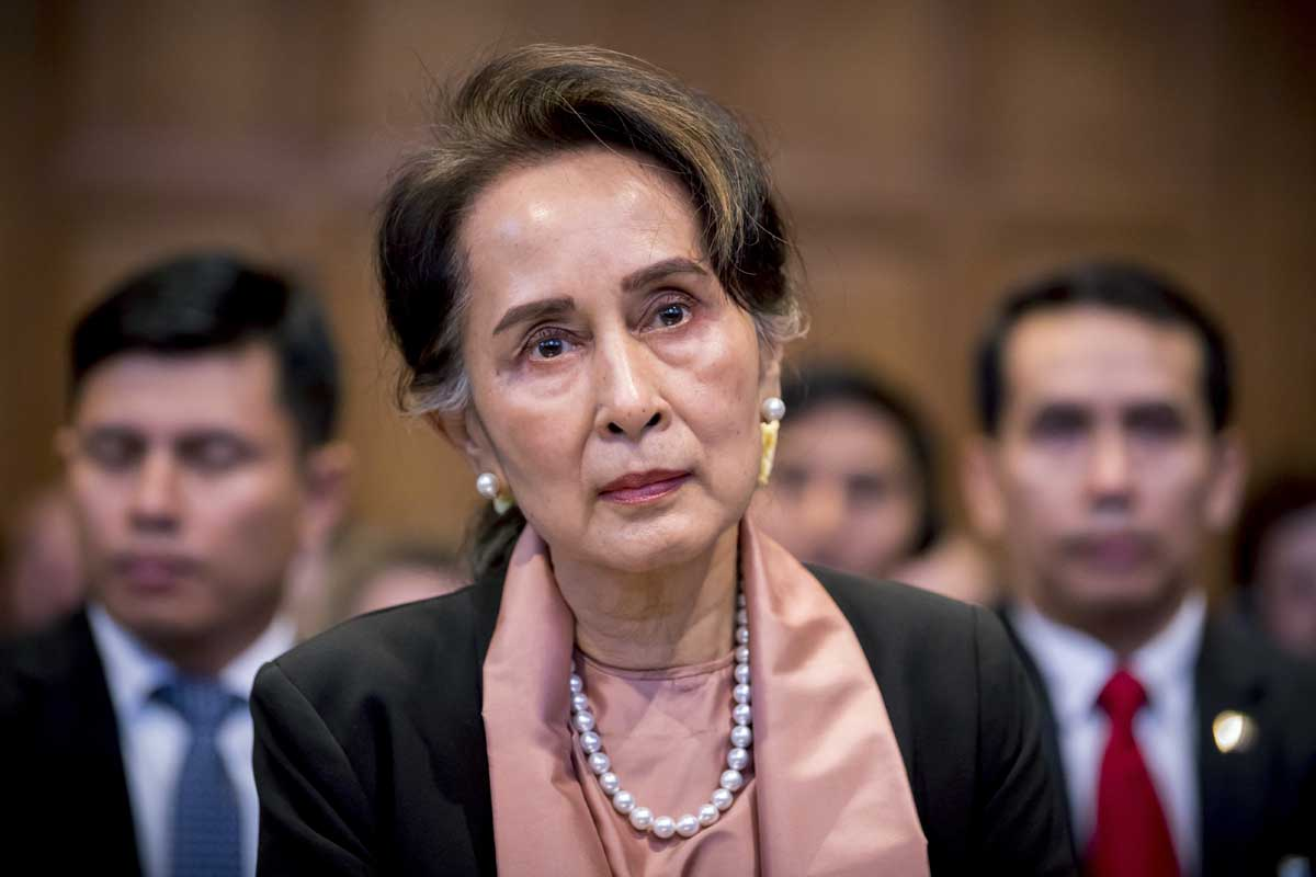 Myanmar, Suu Kyi, International Court of Justice, The Hague