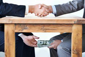 Institutionalised corruption