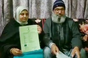Amidst anti-CAA protests, Pakistani woman granted Indian citizenship in J&K