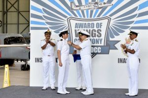 Wings Awarded: SLt Shivangi – Indian Navy's first female aviator
