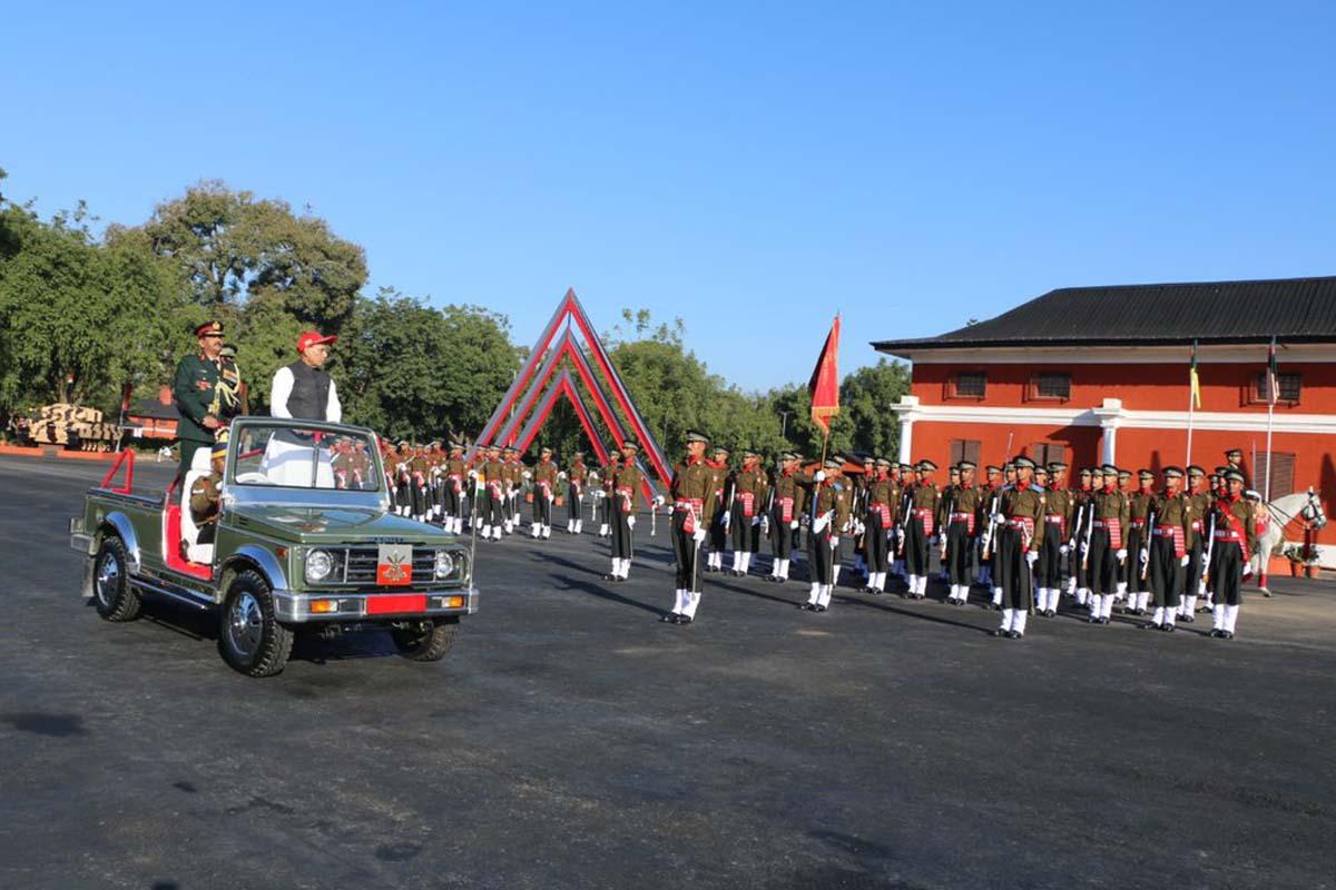 Indian Army, Indian Military Academy, Dehradun, IMA, Chetwood building, Rajnath Singh, Vinay Villash, Uttar Pradesh, Haryana, Bihar, Rajasthan