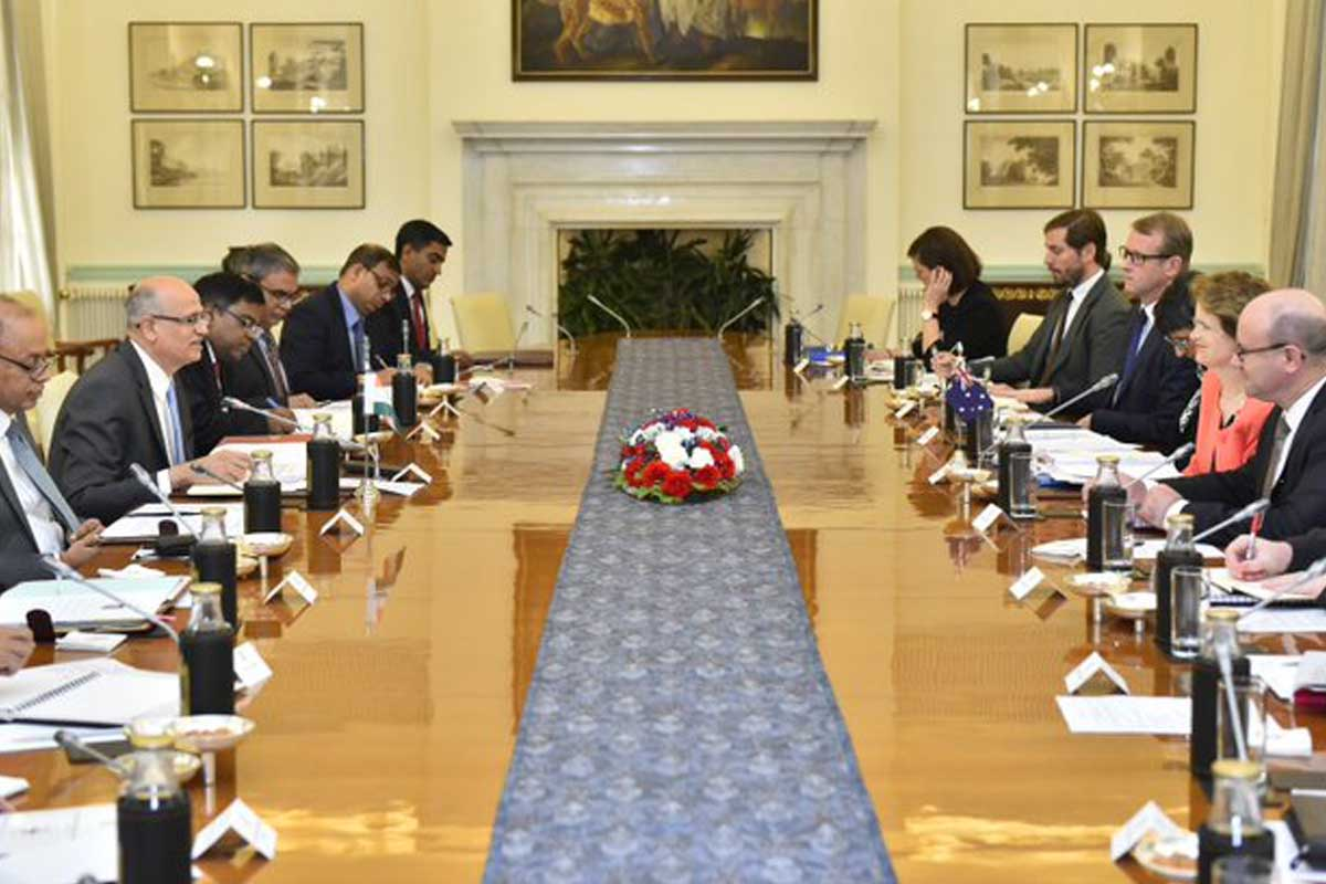 India, Australia hold 2+2 dialogue; resolve to enhance cooperation to combat terror