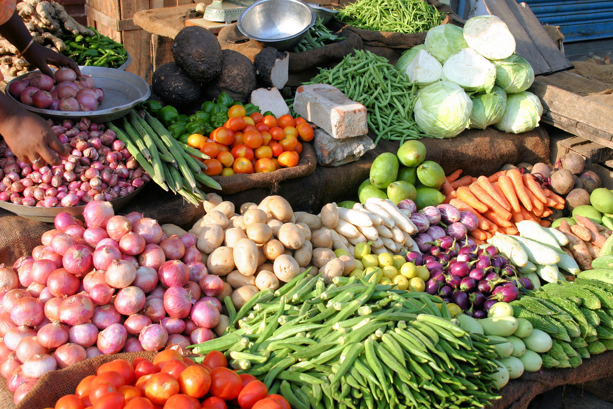 Onions, Vegetables, Kolkata, West Bengal, Bengal