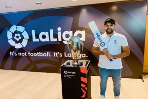 La Liga names Rohit Sharma as their brand ambassador in India