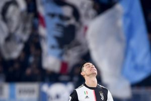 Ronaldo scores but Juve defeat at Lazio throws open Serie A title race