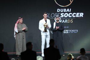 Cristiano Ronaldo bags Dubai Globe Soccer Awards' best men's player
