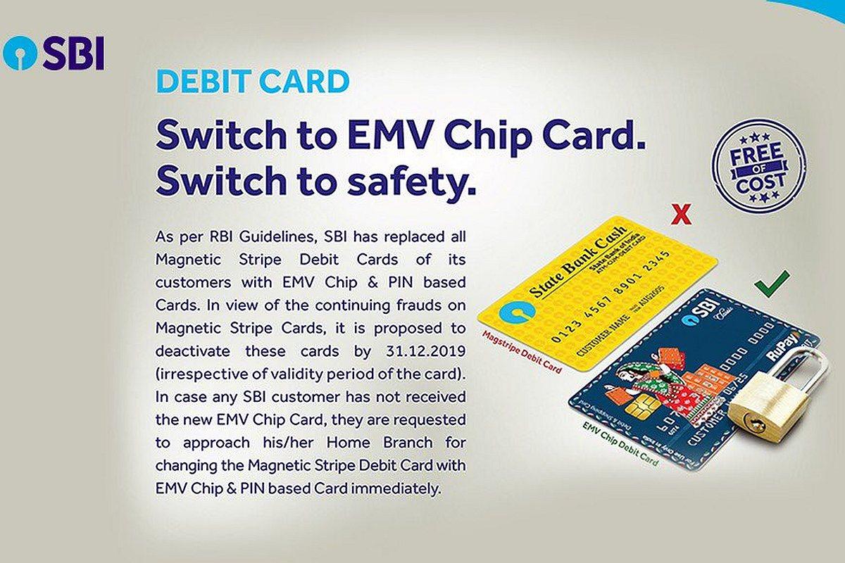 SBI EMV Chip Card