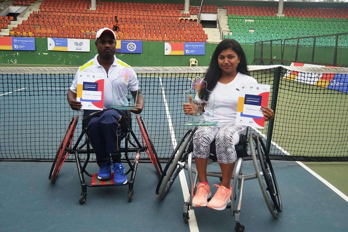 Shekar Veeraswamy, Prathima Rao, KP Shilpa, Karnataka State Lawn Tennis Association