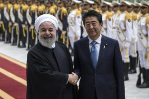 Shinzo Abe, Iran President Rouhani discuss Iran nuclear deal