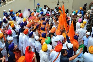 55 Sikh devotees booked for violating Section 144 in UP