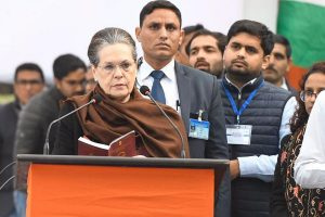 Sonia Gandhi dissolves Punjab Congress committee, state unit chief Jakhar remains