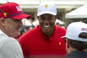 'It's been a honour' says emotional Tiger Woods after Presidents win