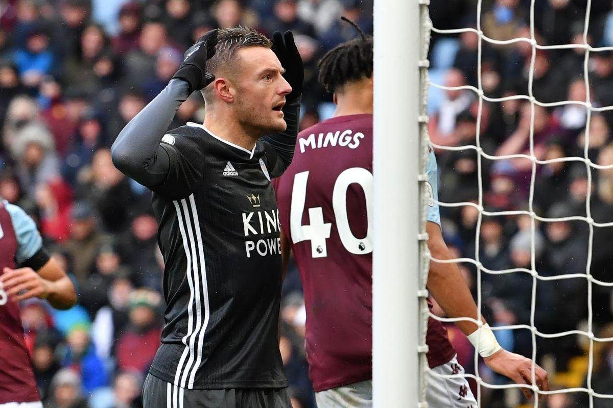Jamie Vardy, Leicester City, Premier League, English Premier League, Aston Villa