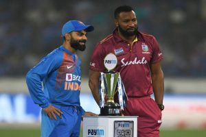 IND vs WI, 1st T20I: Virat Kohli elects to bowl first in Hyderabad