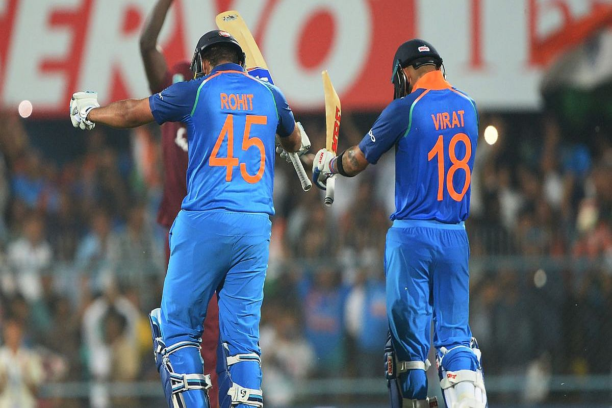 Virat Kohli, Rohit Sharna, India vs West Indies T20I Series 2019