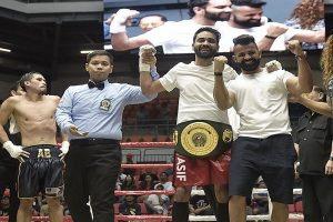 Asad Asif Khan clinches IBO Oceania title