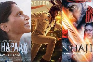 Chhapaak, Tanhaji: The Unsung Warrior, Darbar to see Box Office clash