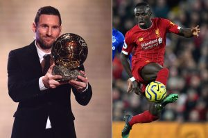 'It's a shame Sadio Mane finished fourth in Ballon d'Or', says Lionel Messi