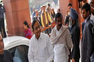 Chidambaram in Parliament day after getting bail in INX Media case, to address media later today