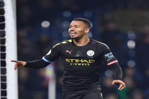 Gabriel Jesus ends goal drought as Manchester City humiliate Brunley 4-1