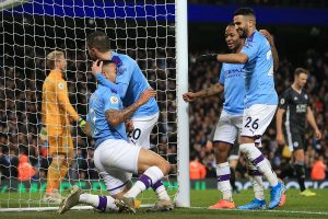 English Premier League 2019-20: Manchester City rally to beat Leictester City 3-1