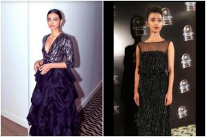 Radhika Apte's all-black look is what you need this party season; check pictures