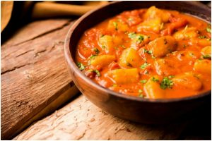 How to make rich and savoury 'Stuffed Dum Aloo' in spicy, creamy curry
