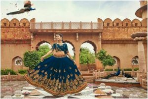 Shivangi Joshi looks pretty as she twirls her blue lehenga, check post