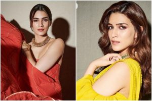 Kriti Sanon in Manisha Malhotra saree Vs Sukriti and Aakriti gown; which one do you like?
