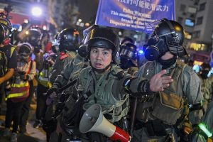 Democracy protests, trade war leave Hong Kong's economy in extreme difficulties