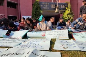 IIMC students protest over 'unaffordable' hike in tuition, hostel, mess charges