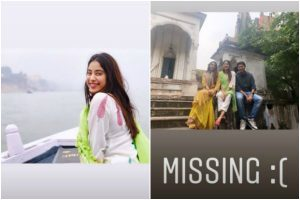 Janhvi Kapoor misses her last vacation, shares pictures from Varanasi trip