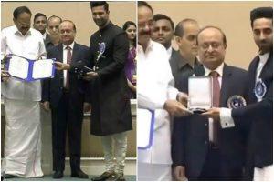 Delhi observes 66th National Awards ceremony; Vicky Kaushal, Ayushmann Khurrana and Akshay Kumar grace show