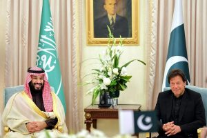 Pak PM Imran Khan discusses bilateral ties, security with Saudi Crown Prince