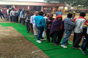 Jharkhand Assembly polls: One injured in firing at Sisai booth, 12.3 per cent voter turnout recorded till 9 am