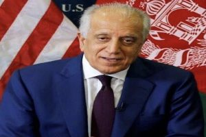 US envoy Zalmay Khalilzad arrives in Doha, Afghan peace talks to resume soon