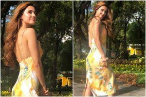 Disha Patani's vacay mode on; basks under Bangkok sun