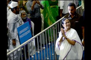 Mamata urges all to join hands, isolate BJP