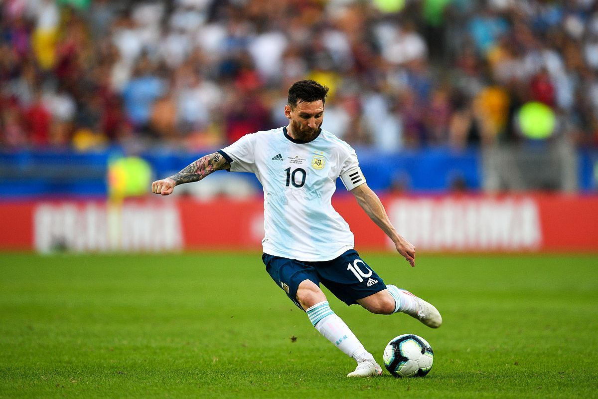 Lionel Messi, Lionel Scaloni, 2020 Copa America, Copa America 2020