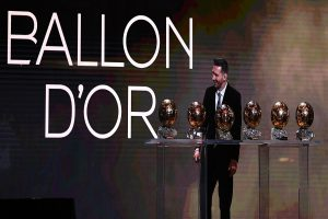 Lionel Messi takes leadership in his stride to clinch sixth Ballon d'Or