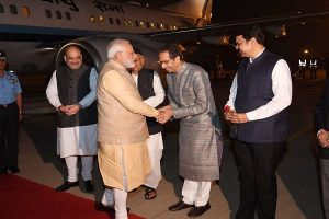 Uddhav Thackeray meets PM Modi for first time after becoming CM of Maharashtra