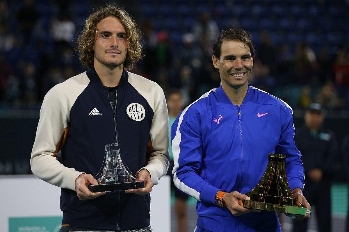 Rafael Nadal, Stefanos Tsitsipas, Mubadala World Tennis Championship,