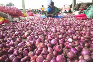 SP, Congress launch unique protest on spiralling onion prices