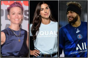 Neymar, Alex Morgan, Megan Rapinoe among most searched athletes on Google in 2019