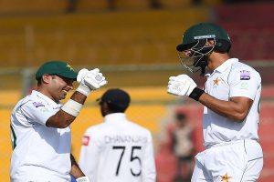 Shan Masood, Abid Ali tons put Pakistan in driving seat vs Sri Lanka