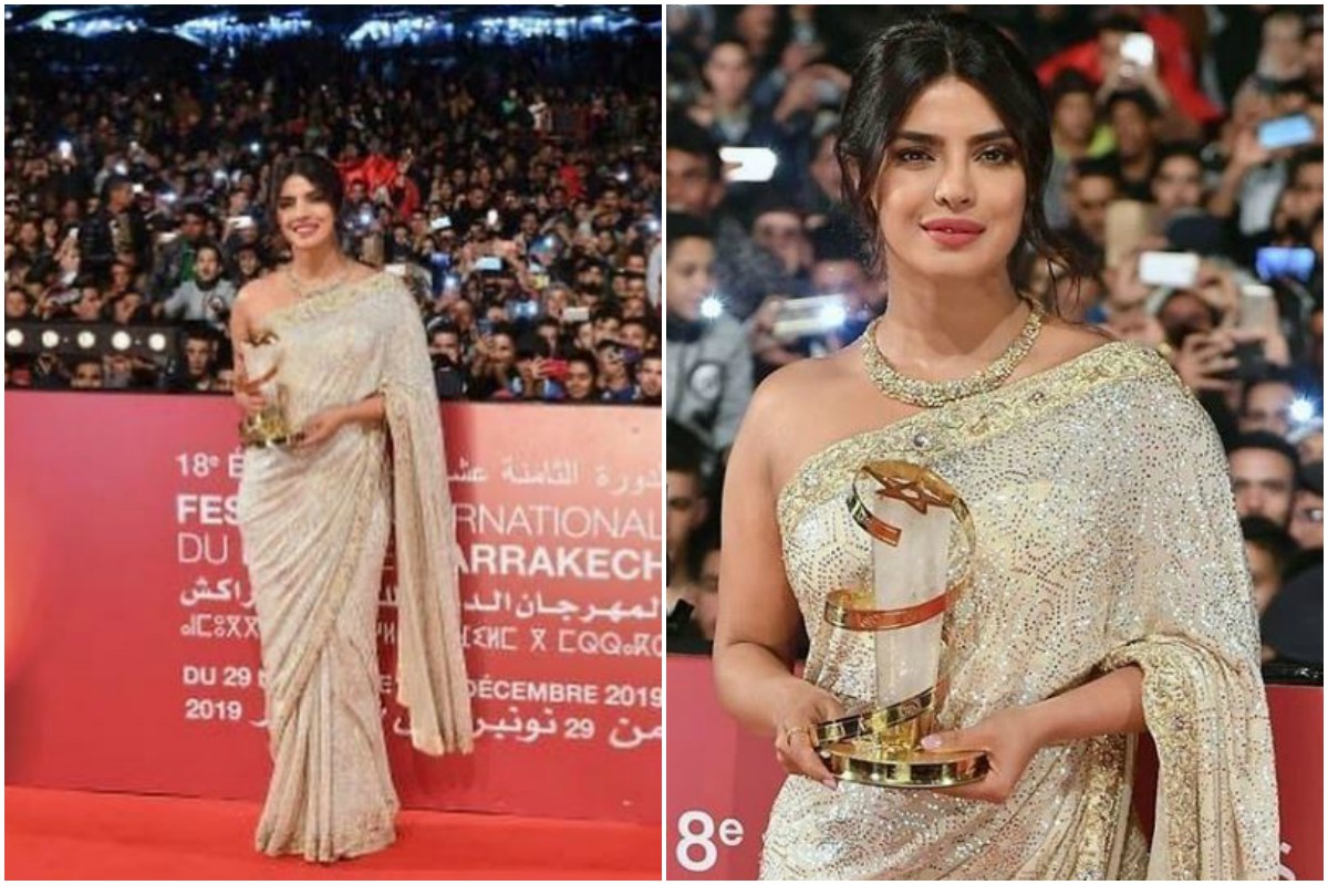 'I am honoured and proud,' says Priyanka Chopra Jonas at Marrakech Film Festival