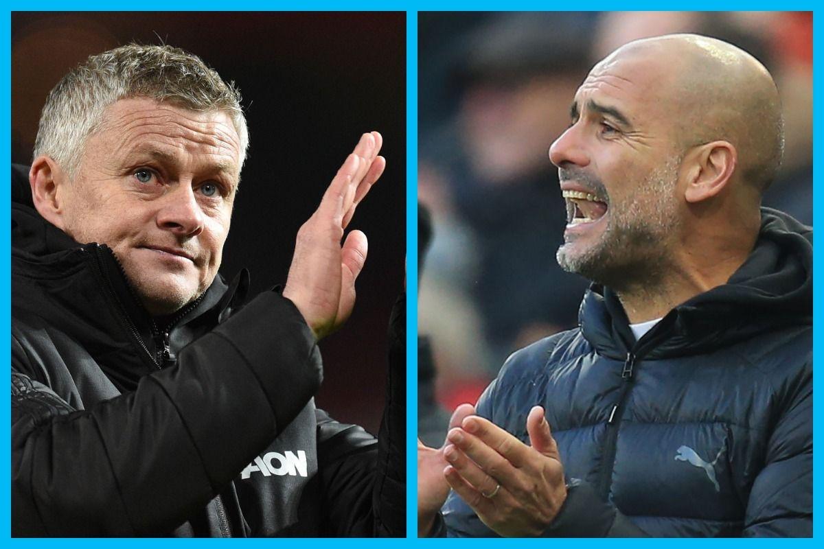 Manchester City vs Manchester United, English Premier ...